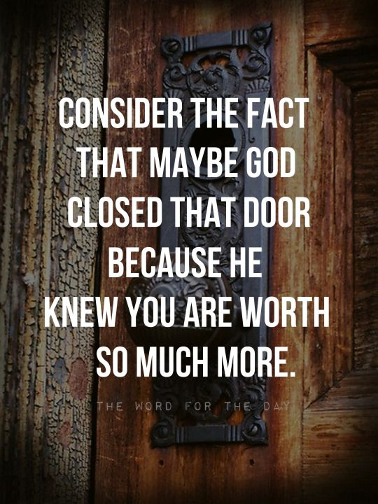Quotes About Strength  & Quotes About Strength : open doors closed door christian quotes ...