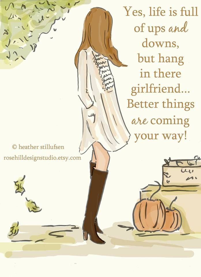 Positive Quotes For Women : Yes, life is full of ups & downs ...
