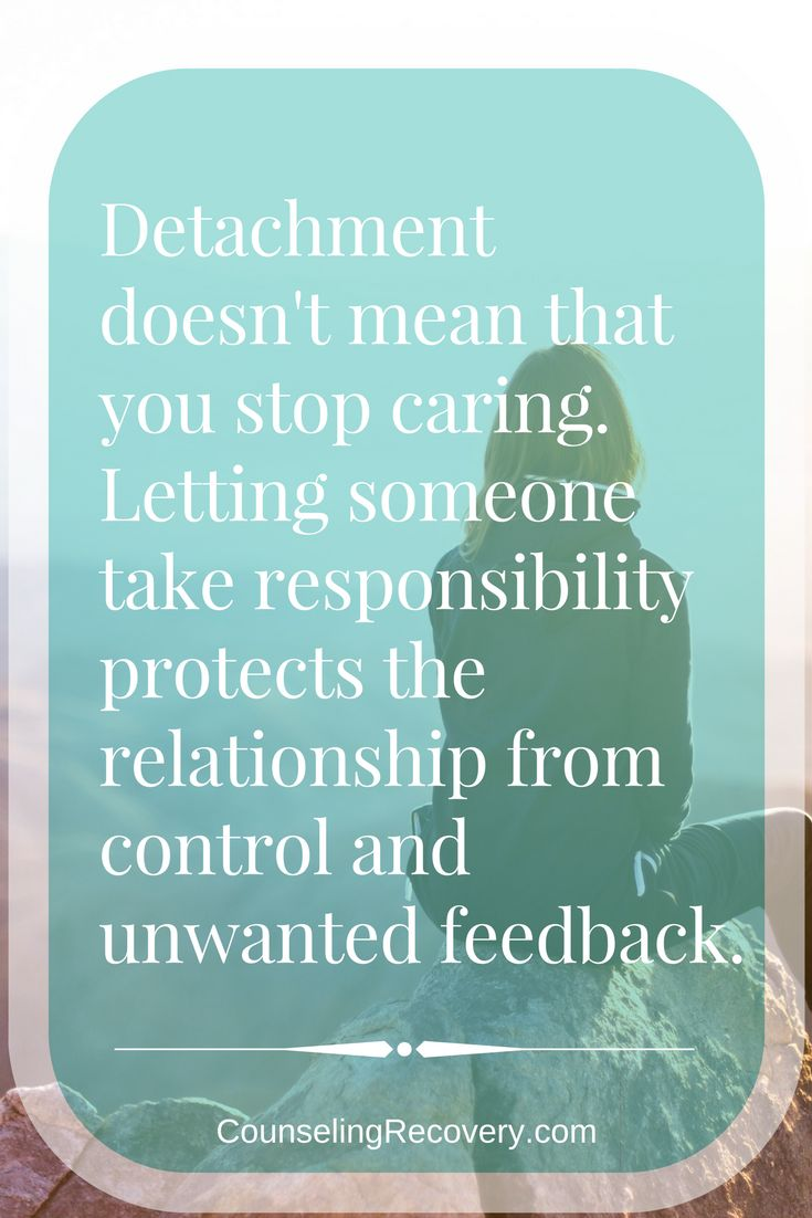 Love And Relationships Quotes Quotes About Life  Detaching With Love Means Letting Go Of
