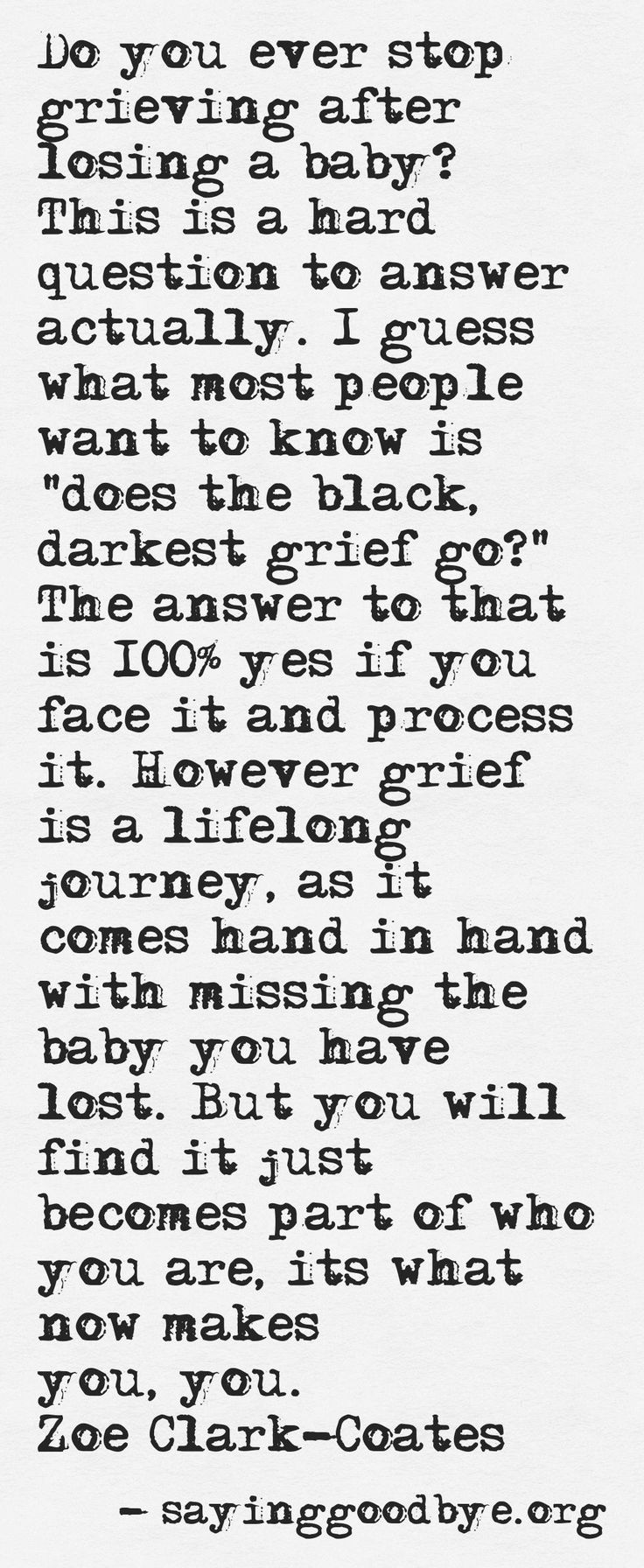 Quotes about Missing : After losing a baby you only imagined ...