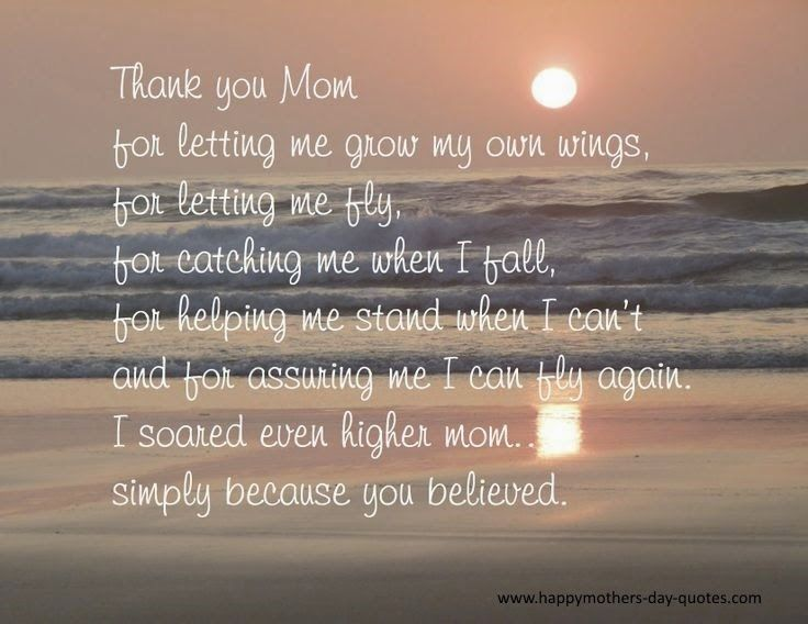 Mother's Day Quotes Thank You Mom Quotes From Daughter Quotess Inspiration Mother Quotes Com