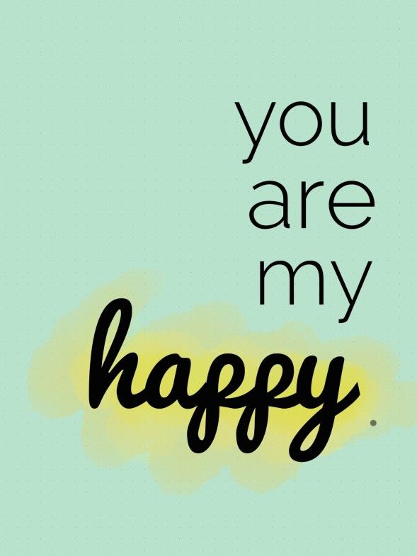 Quotes about Happiness : you are my happy, couple quotes ...