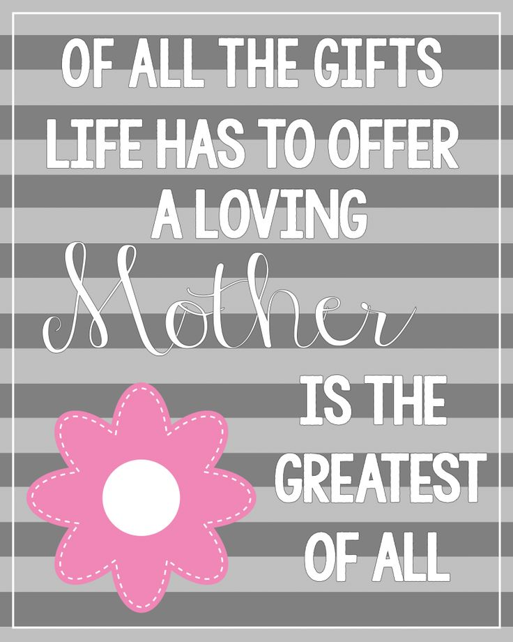 image regarding Printable Mothers Day Quotes identified as Moms Working day Rates : No cost Printable Moms Working day Quotation