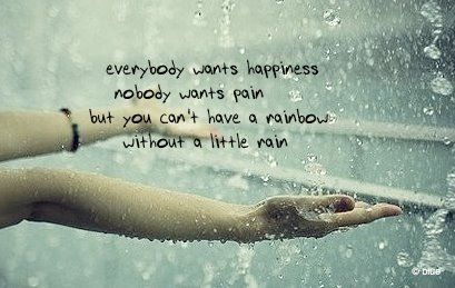 quotes about happiness there s a rainbow in the sky