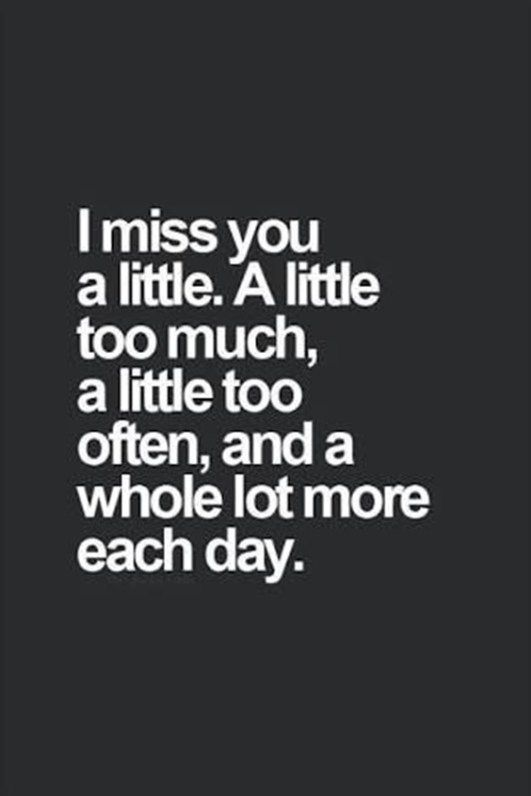 Missing someone quotes with pictures